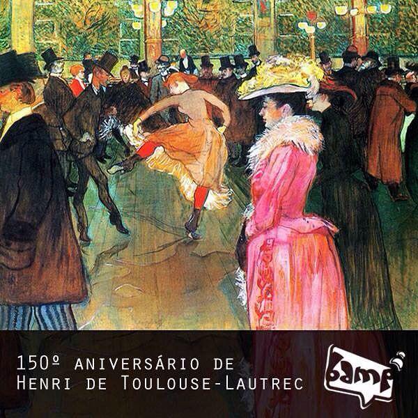 Que a gente encontre inspiração na vida ao nosso redor e transforme tudo em grandes trabalhos.  #ToulouseLautrec #Arte #Inspiracao #Aniversario #150 #BampDM #CreativeGroup #Publicidade #Design