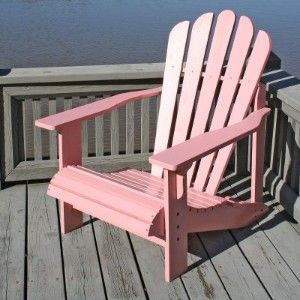 Ahh....Bubble Gum Pink Adirondack Chair
