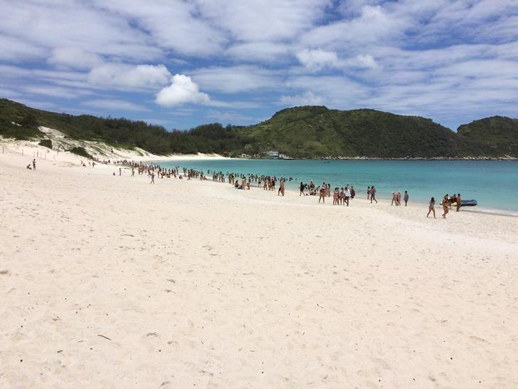 Praia Da Ilha Do Farol Arraial Do Cabo Justgo Arraial Do