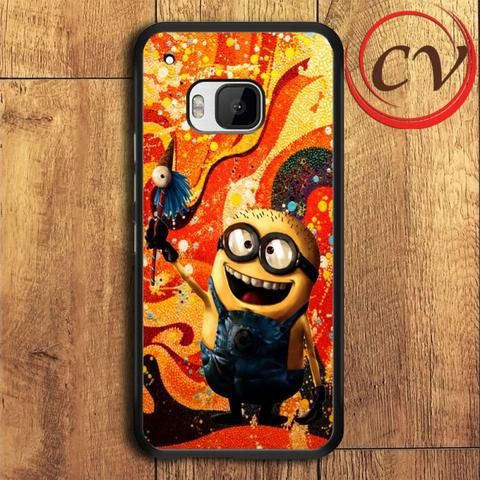 Minion HTC One M9 Plus Black Case
