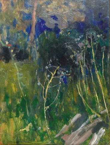 Jan Stanislawski, thickets / zarosla on ArtStack #jan-stanislawski #art
