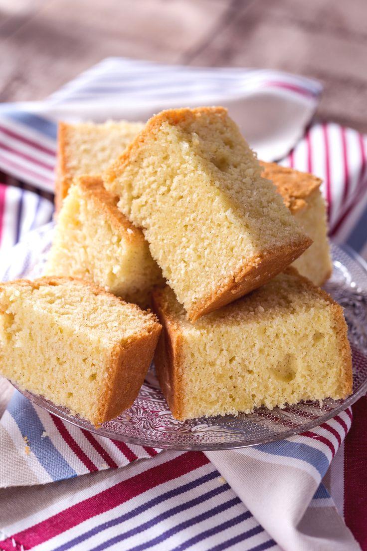 Torta Madeira: perfetta da pucciare in una tazza di latte caldo!  [Madeira Cake]