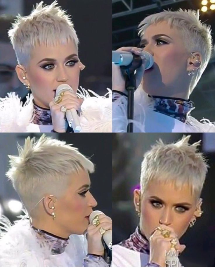 Katie Perry rockt kurze Locks. - #Katie #Locks #Perry #rocks #short