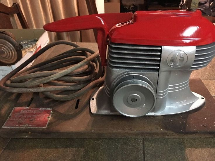 Vintage Sears Craftsman Table Top Air Compressor Art Deco Orig Packard Motor
