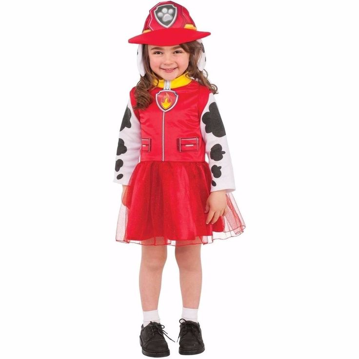 Rubies Paw Patrol Marshall Child Halloween Costume Girls Small 4-6 #Rubies #CompleteOutfit