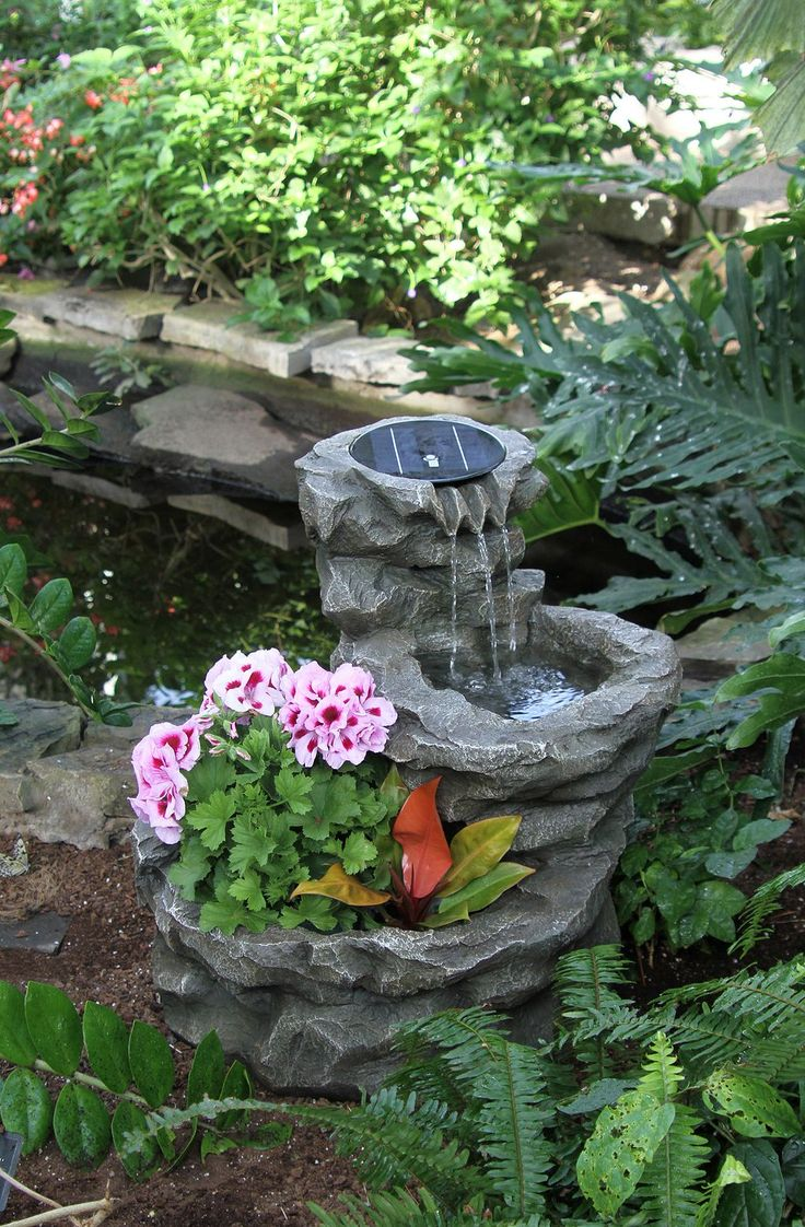 Best 25 small water features ideas on pinterest garden for Small garden water features