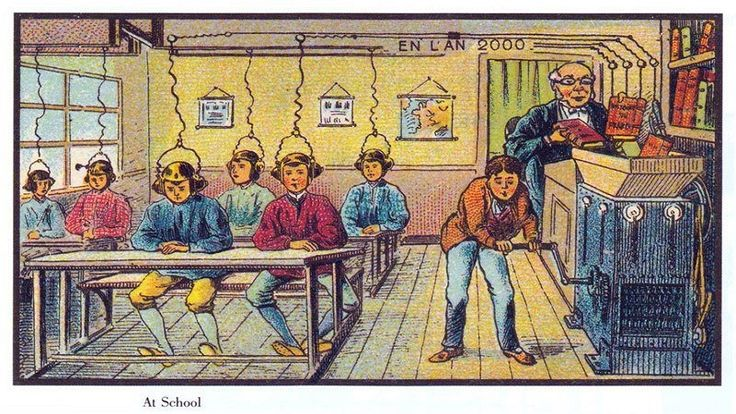 100 Years Ago, Artists Were Asked to Depict the Year 2000, These Were The…