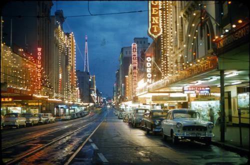 Queen Street, Brisbane 1954