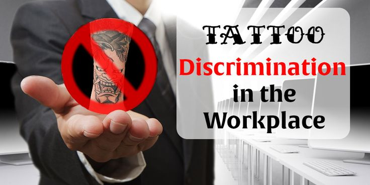 26 best blog posts images on pinterest blogging skulls for Tattoos in the workplace discrimination