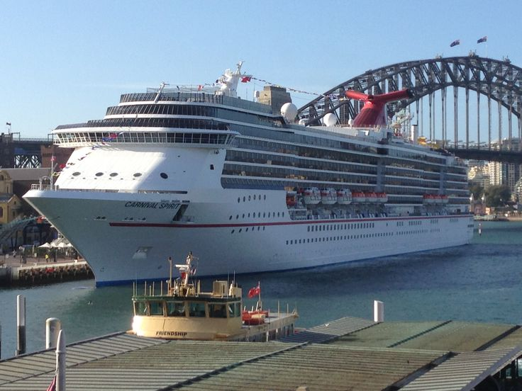 Sydney Carnival Spirit Cruise Ship