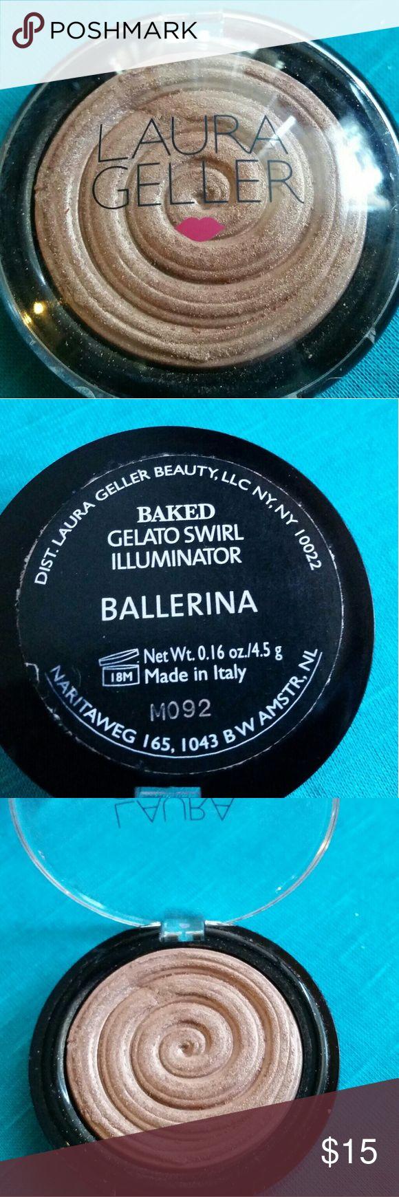 Laura Geller Highlighter Laura Geller Highlighter in Ballerina. Swatched a couple times, worn once. Sanitized. Laura Geller Makeup Luminizer