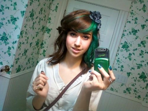 Heck Yes Green Hair