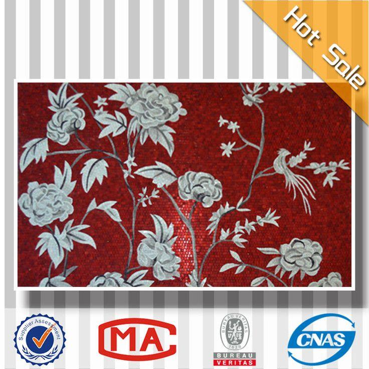 T01 цветочным узором настенная плитка мозаика стена росписи дизайн искусство фрески-изображение-Мозаика-ID товара::1722480772-russian.alibaba.com