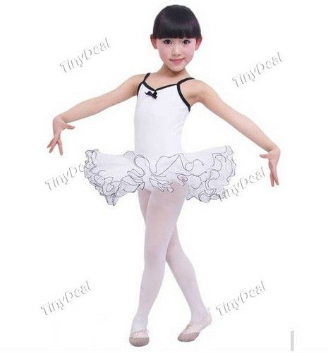 Elegant Special Lightness Purity Ballet Dresses for Kids Girls Tinydeal