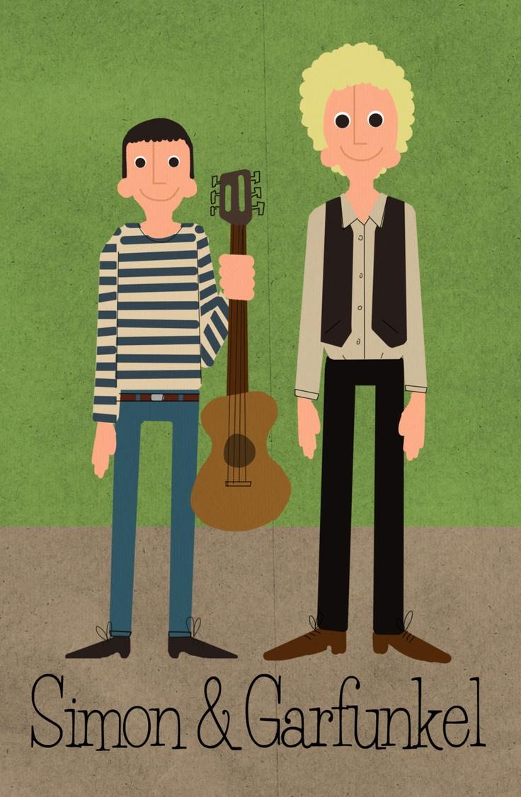 Joe Collins, Simon & Garfunkel
