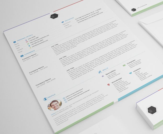 The 25+ best Resume templates free download ideas on Pinterest - free cool resume templates