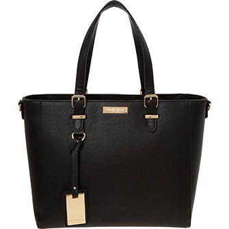 Carvela Black Tote Bag