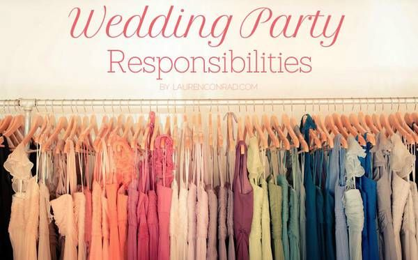 wedding party duties  responsibilities {good to pin if you're a bridesmaid, maid of honor or bride-to-be}