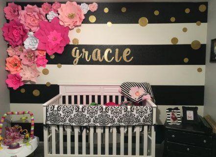 Super Baby Girl Schlafzimmer grau Polka Dots 60 Ideen