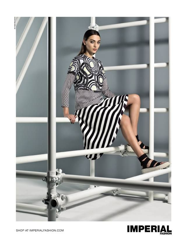 IN THE PRESS | FLAIR, ISSUE 15 ADV CAMPAIGN SPRING SUMMER 2015 #imperialfashion #advcampaign #SS15 #SpringSummer2015