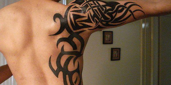 Tattoo tribal shoulder