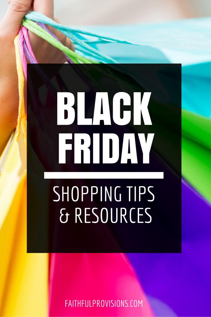 Black Friday Shopping Tips Resources - Your guide to holiday shopping!