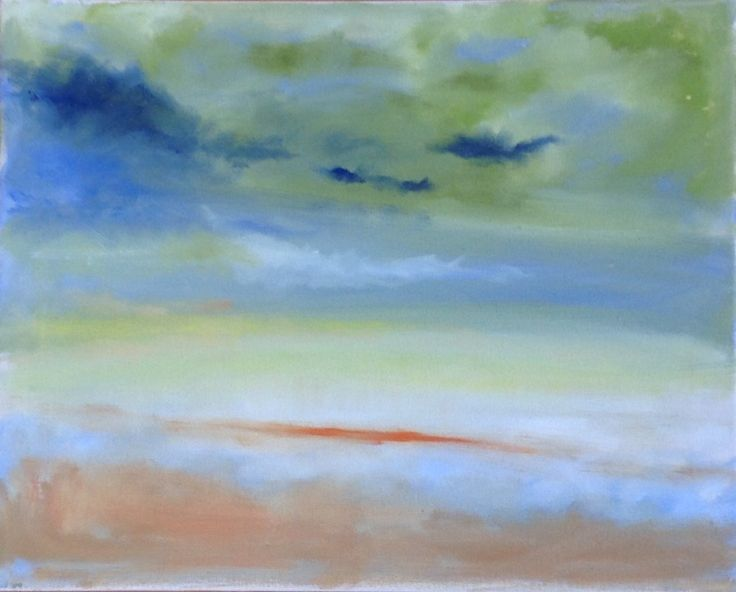 Sky in Blue and Green Mady Goldstein