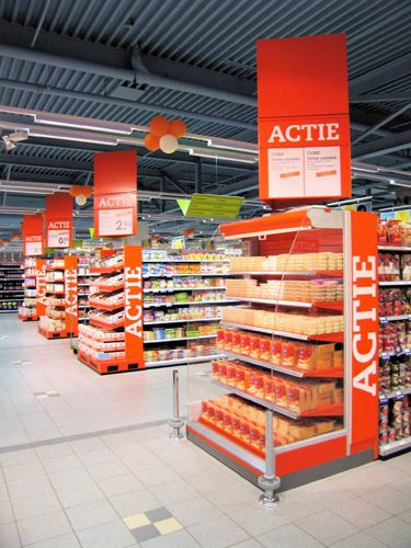 Supermarket Design | Promotional Ends | Promo End Fixture | C1000