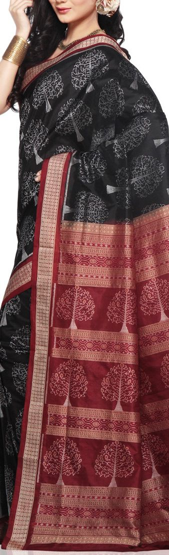 Odisha/ Orissa handloom Saree - original pin by @webjournal