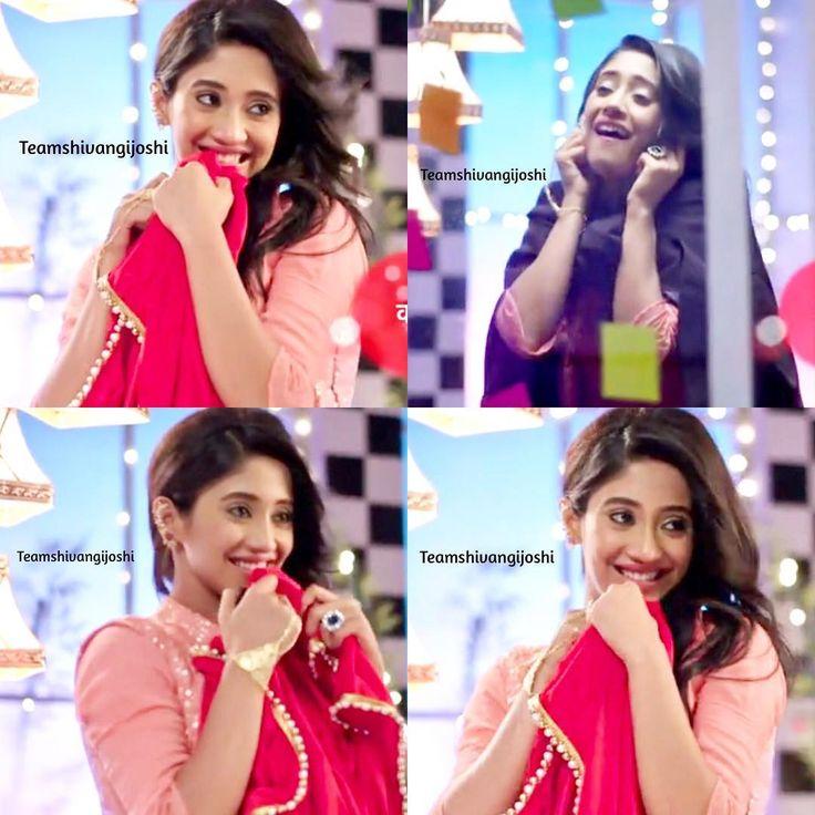 """Cutie ❤️ @shivangijoshi18  Yeh Rishta Kya Kehlata Hai Precap ❤️ Naira's style of apologise to…"""