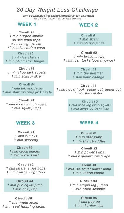 28 day weightloss challenge pdf