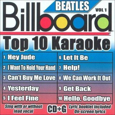 Karaoke - Billboard Top 10 Karaoke: The Beatles, Vol. 1 (CD)