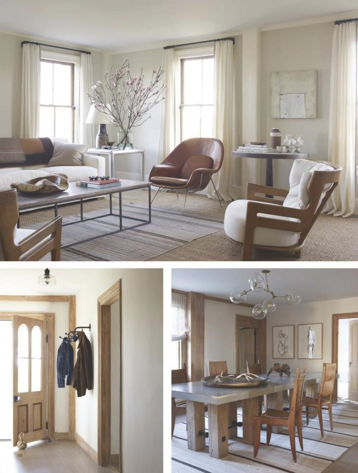 Robert Stilin home in the Hamptons {via Elle Decor, Dec 12}