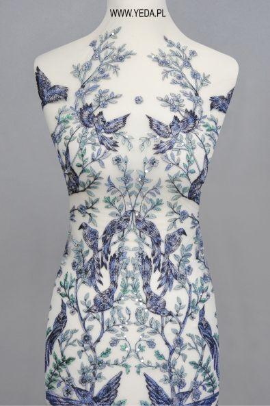 Koronka ML13948 Doskonała na suknie koktajlowe lub wieczorowe. Idealna dla druhen, świetnie prezentuje się na przyjęciach weselnych,studniówkach lub balach sylwestrowych.