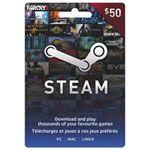Steam Gift Card - Sold pretty much anywhere; bestbuy, Walmart, 7-11, Safeway, etc.
