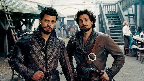 Porthos and Aramis