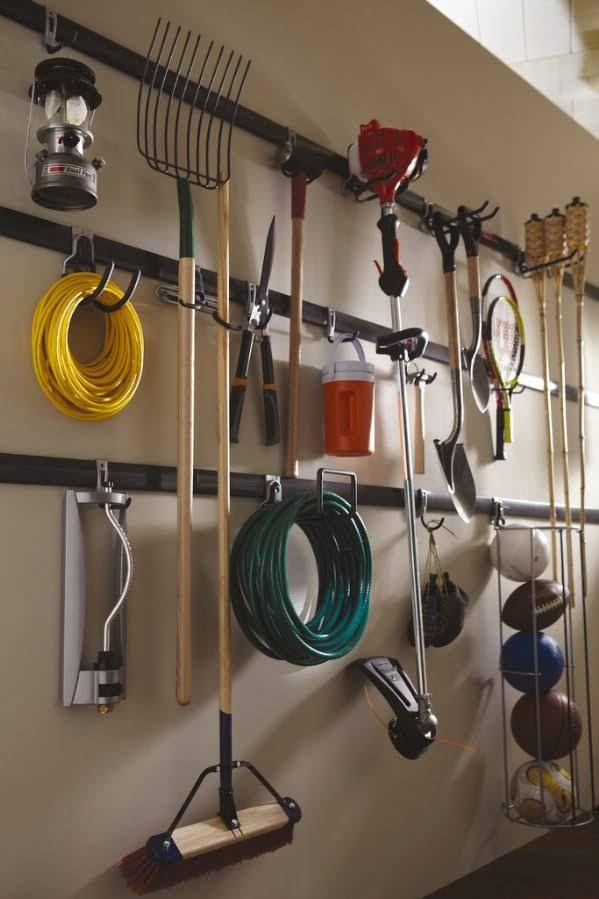Grab a FastTrack Organization System - 49 Brilliant Garage Organization Tips, Ideas and DIY Projects