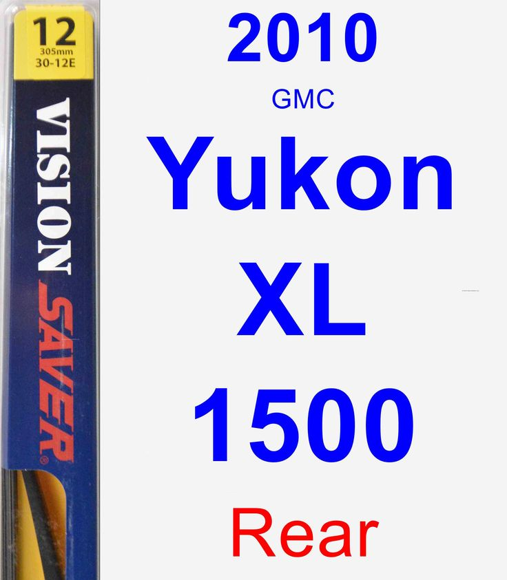 Rear Wiper Blade for 2010 GMC Yukon XL 1500 - Rear