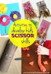 9 Activities To Develop Kids Scissor Skills!