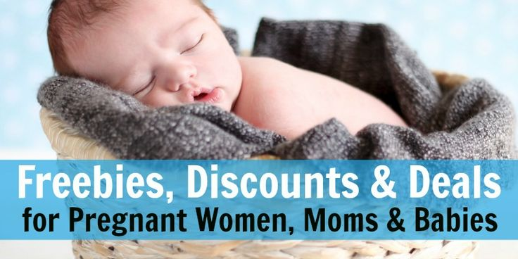 Big list of discounts, deals, and freebies for new moms, pregnant women, and babies. So many great freebies to be had or cheap baby stuff!