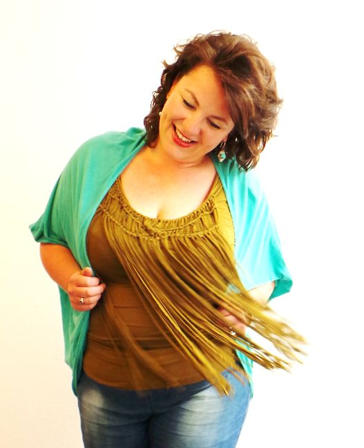 fringe top, curve collective, ibiza style, grote maten ...