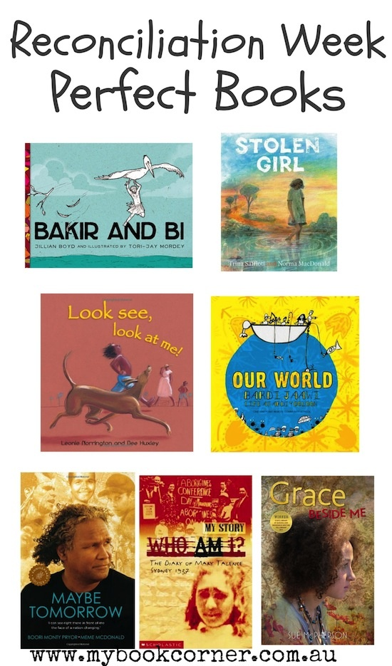 A great collection of fabulous books from Australian Indigenous Authors and illustrators. Perfect for sharing during Reconciliation Week in particular.