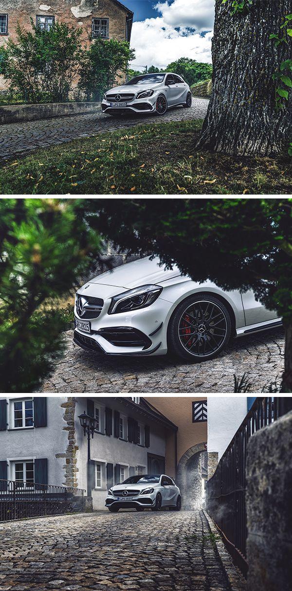 Exploring the town. Photos by Ranier Fernandez (www.fernandez-world.com) for #MBsocialcar [Mercedes-AMG A 45 4MATIC | Kraftstoffverbrauch kombiniert: 7,3-6,9 l/100 km | CO₂-Emissionen kombiniert: 171-162 g/km |http://mb4.me/Rechtlicher_Hinweis/]