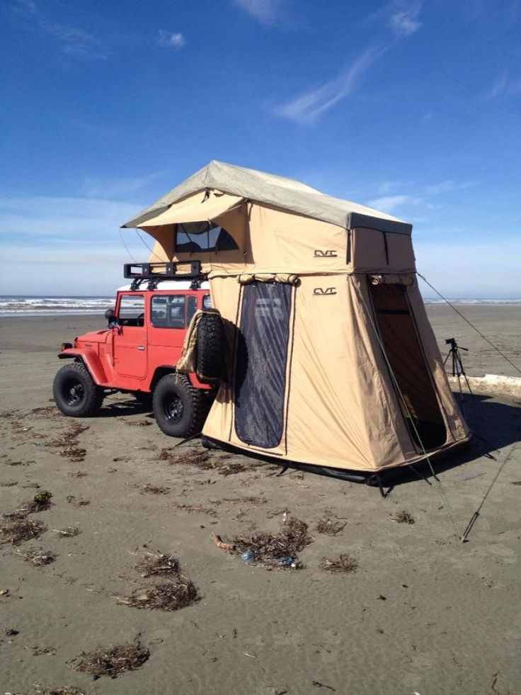Rooftop Tents Cascadia Vehicle Roof Top Tents Red Jeep