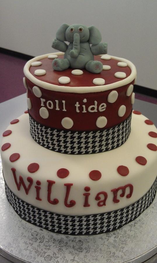 Alabama Crimson Tide Cookie Cakes