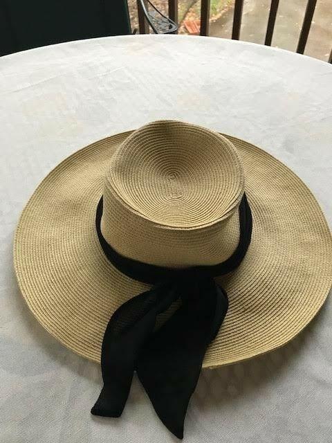 c14b00e0f6e82 Ann Taylor 100% Paper Straw Women s Hat  fashion  clothing  shoes   accessories