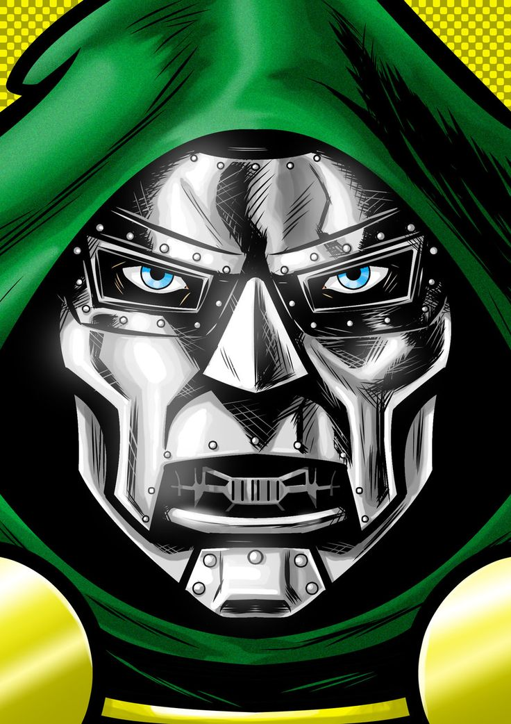 Dr. Doom P. Series by Thuddleston.deviantart.com on @deviantART