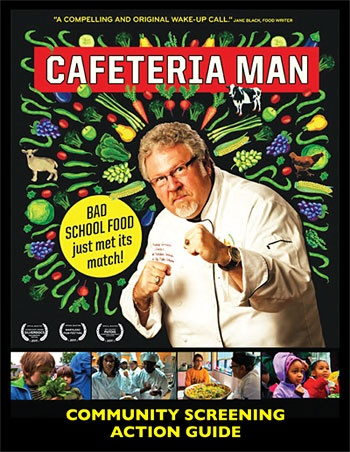 Cafeteria Man is a story of positive movement that shows what's possible in our nation's schools. It's about the aspiration of activists and citizens coming together to change the way kids eat at school. It's about overhauling a dysfunctional nutritional system. And, it's the story of what it takes, and who it takes, to make solutions happen.