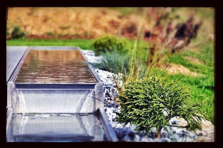 Wasserrinne garten living interior pinterest g rten - Wasserrinne garten ...