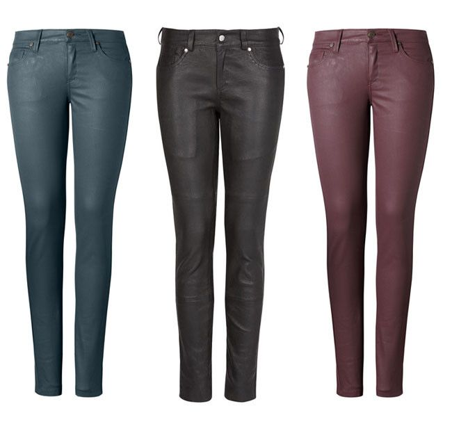 pants 2014 the pants the we have it in blue oil, in coffee and wine,the  we have in  sizes 12 to 36, has a silver button with a close of the same color of the button, is only $ 70 each